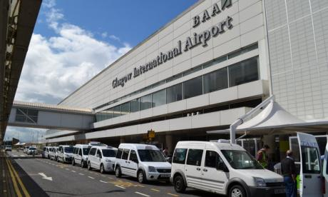 Glasgow Airport was briefly shut this morning