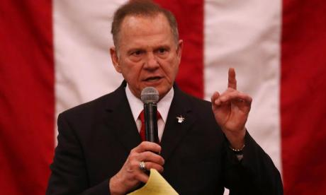Roy Moore faces off against Doug Jones in Alabama today