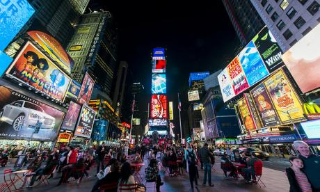 Times Square is one of the world's most iconic venues