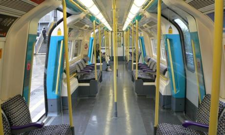 The incident took place on the Jubilee line