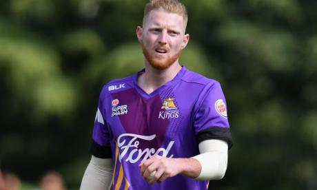 Stokes remains suspended by England
