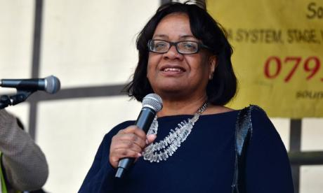 Diane Abbott has added to the chorus of disapproval aimed at Boris Johnson