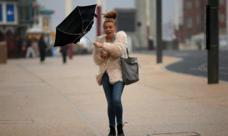 'Who needs an alarm clock?' - Storm Georgina keeps the UK up at night
