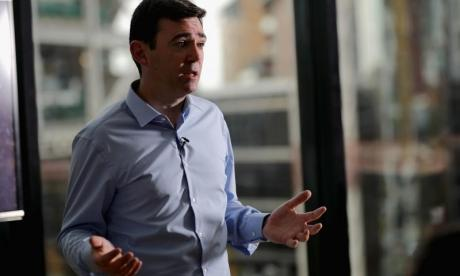 Andy Burnham strongly criticised the scandal at the Presidents Club this morning