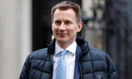 Jeremy Hunt hits back at claims Theresa May is timid over Brexit