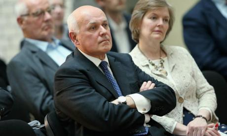 Iain Duncan Smith had some strong words for Theresa May's critics