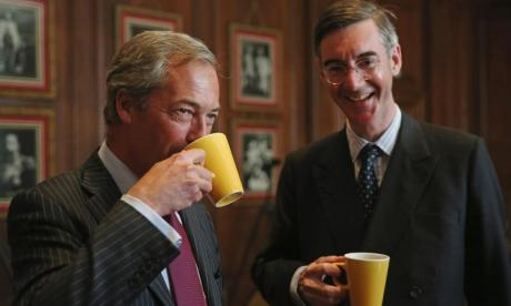 Rees-Mogg told Ukip voters to join the Tories and hit out at the CBI