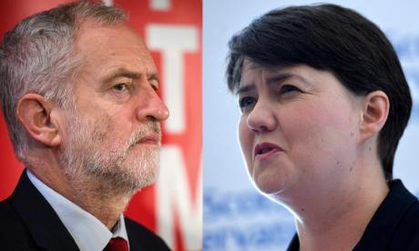 James Kelly believes Jeremy Corbyn and Ruth Davidson are both pumping out falsehoods on Brexit