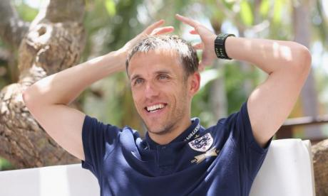 Phil Neville made jokes about wife-beating and gender inequality