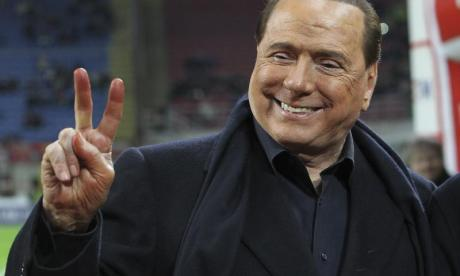 Berlusconi was at the centre of the 'bunga bunga' scandal in 2011
