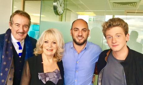 Johnny caught up with some of the main stars in Benidorm