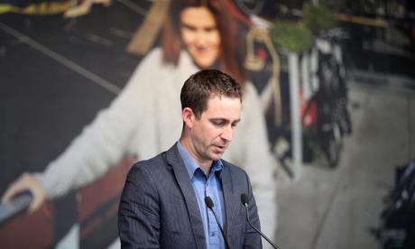 Brendan Cox has admitted being a sex pest
