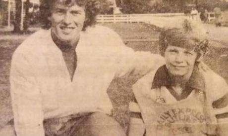 David Lean pictured with Barry Bennell