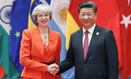 Downing Street claims Theresa May didn't 'sidestep' human rights in China visit