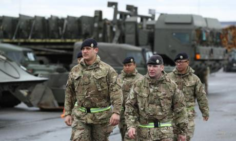 British troops in Estonia 'prepared to deal with raft of threats' from Russia