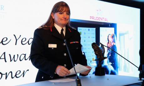 London Fire Brigade chief speaks out about 'truly shocking' abuse sent to her