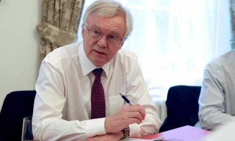 David Davis criticises 'discourteous' EU over planned Brexit sanctions