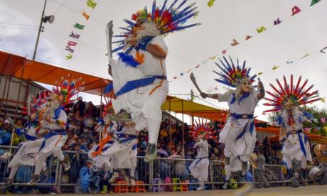 Eight killed by fried llama stall explosion during festival in Bolivia