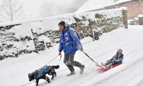 'UK always get its knickers in a twist' - Beast from the East is mocked online