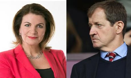 Campbell described Boris Johnson as a 'charlatan' and said the two parties were as bad as each other