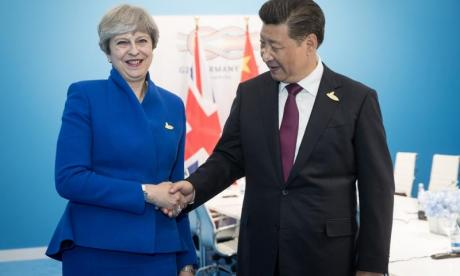 Theresa May to meet President Xi Jinping to discuss trade 'worth £9 billion'
