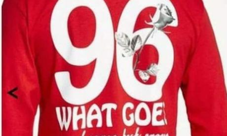 Topman 'Hillsborough' top shows 'staggering naivety or incompetence', says Jamie East