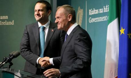 Brexit: Donald Tusk to meet with Taoiseach Leo Varadkar in Ireland