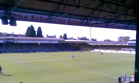 Southend's Roots Hall stadium, seen here in 2007. The alleged offences took place on Southend United's grounds in the late 1970s