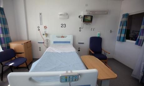 There are more than 1,400 empty beds across the UK, according to new stats