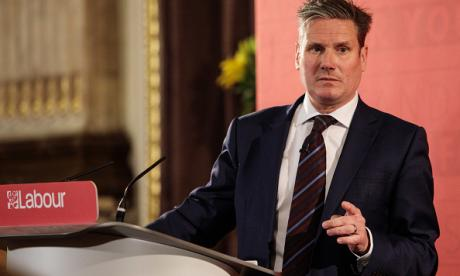 Shadow Brexit Secretary Sir Keir Starmer, who disagrees with the Unite leader