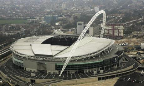 Wembley Stadium, the subject of a £500 million bid