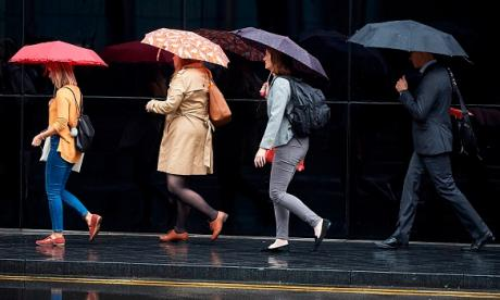 UK's average April rainfall is 50mm