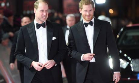 Prince William, left, is to be Harry's best man