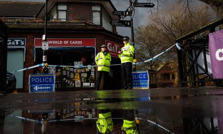 Investigations continue at the scene of Salisbury poisoning