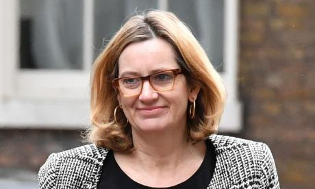 Amber Rudd denies seeing analysis claiming police cuts contributed to violent crime rise