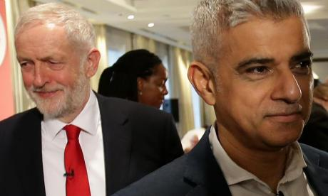 Jeremy Corbyn and Sadiq Khan hold meetings on violent crime