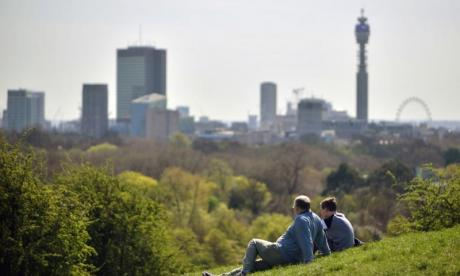 Thursday could see temperatures in London hit 26C
