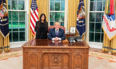 Kim Kardashian West meets Donald Trump to ask for pardon of drug inmate