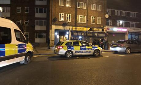 Man shot dead outside Queensbury tube station in London