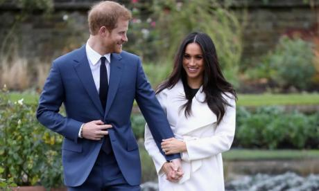 Prince Harry and Meghan Markle Getty