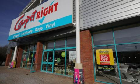 Carpetright to close 81 stores, leading to hundreds of job losses