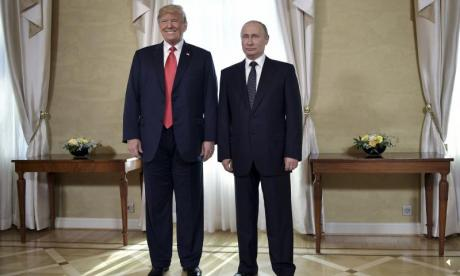 Trump and Putin meet to discuss 'trade, missiles and China'