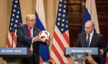 Trump and Putin deny allegations of Russian interference in 2016 US election