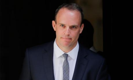 """Brexit Secretary Dominic Raab described it as """"another key milestone in the UK's path to leaving the EU"""""""