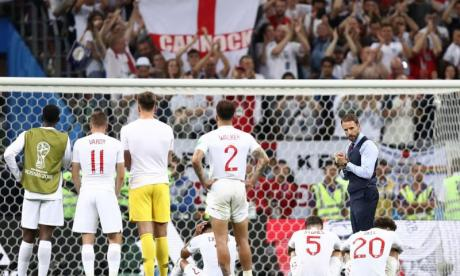 England fans express pride in the team despite Croatia defeat