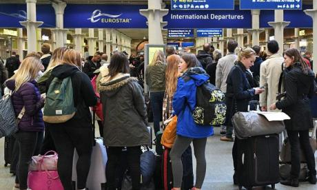 RMT union strikes affect Eurostar and South Western Railway