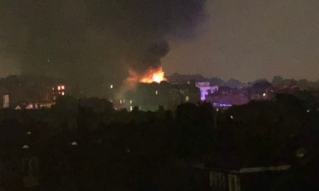 London Fire Brigade sends 100 firefighters to tackle West Hampstead blaze