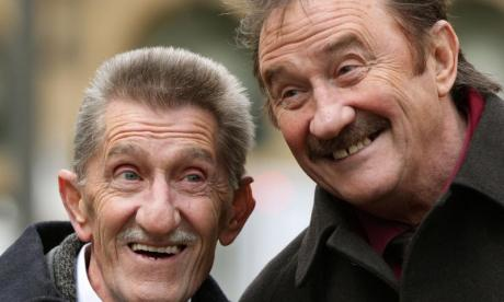 Chuckle Brothers: Barry (left) died on Sunday