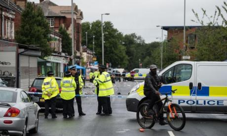 Twelve people including a child injured in Manchester suspected shooting