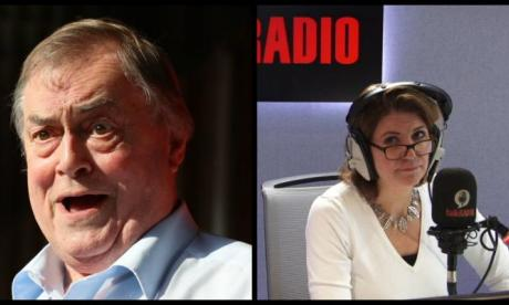 John Prescott tells Julia Hartley-Brewer it's 'absolute nonsense' to call Labour a racist party